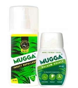 Mugga spray 9,4% DEET + balsam kojąco-łagodzący na ukąszenia