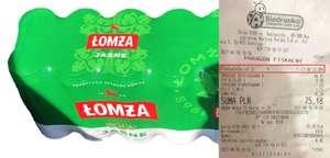 Piwo Łomża 12x0,5l w Biedronce