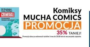 Promocja - 35% na komiksy od Mucha Comics