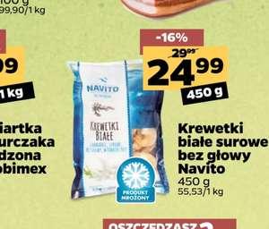 Netto Krewetki białe surowe 450 g -15%