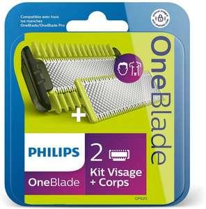 Philips QP620/50 (2 ostrza + 2 nasadki OneBlade) + baterie AAA (pierwszy zakup w apce z kodem APPKA35 66,68zł) Amazon.pl
