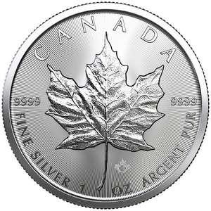 Moneta z czystego srebra, inwestycja - lokata kapitału 1oz