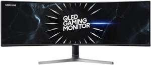 "Monitor SAMSUNG C49RG90SSR 49"" 5120x1440px 120Hz 4 ms Curved"