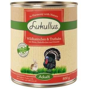 Mokra karma dla psów Lukullus Naturkost 24x800g (5 rodzajów do wyboru) @ zooplus