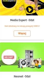 Aplikacja ING 50 zł Neonet / MediaExpert