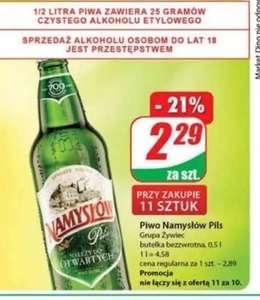 Piwo Namysłów 500ml Dino