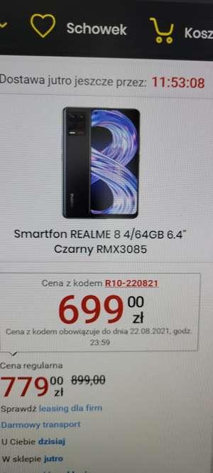 Smartfon Realme 8 4/64 GB