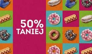 Wybrane słodkie wypieki 50% taniej od 7:00 do 10:00 - Żabka