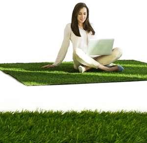 Dywan Sztuczna trawa antypoślizgowa 133 x 200 cm dla Smartowiczów