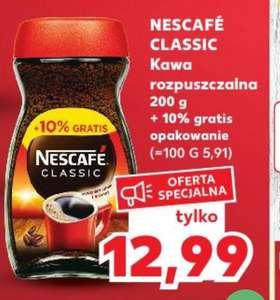 Kawa Nescafe rozpuszczalna 210 g Kaufland