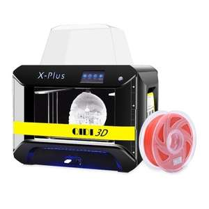 Qidi Tech X-PLUS 3D Printer with 4.3 Inch Color Touchscreen