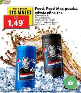 Pepsi, Pepsi Max Lidl