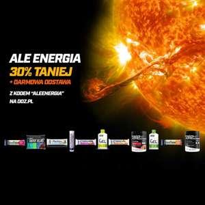 Produkty ALE Energia(żele, batony energetyczne itd) na DOZ.pl -30% + darmowa dostawa od 20 zł