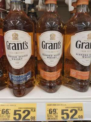 Grant's Cask Edition 700 ml - blended scotch whisky - Auchan