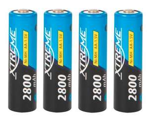 Akumulatorki Ni-MH XTREME 2800mAh R6 AA 4x baterie