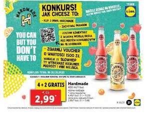 Piwo Hardmade 4+2 gratis. Lidl