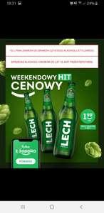 Lech Premium butelka 0,5l za 1,99 zł przy zakupie 3 sztuk z aplikacją Żappka