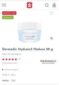 Dermedic Hydrain3 Hialuro 50 g