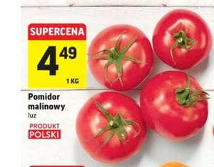 Pomidory malinowe z Polski @Intermarche