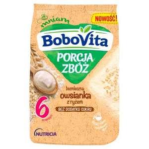 BoboVita Porcja zbóż Owsianka bezmleczna z ryżem 170g za 3,45zł @ Bee.pl