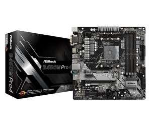 Płyta główna ASrock B450M PRO4 AMD AM4