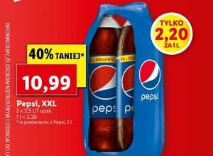 Pepsi XXL - 2x2.5l @Lidl