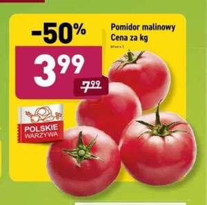 Pomidor malinowy 3.99 zł/kg Aldi