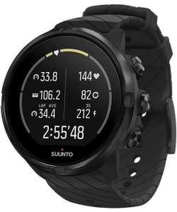 Zegarek Suunto 9 All Black Wrist HR GPS + darmowy grawer na tabliczce