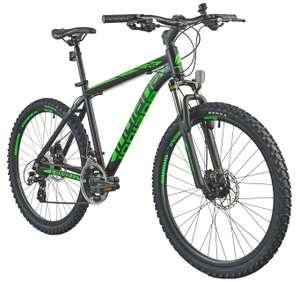 Rower górski MTB INDIANA X-Pulser 2.6 M15 26 cali męski Czarno-zielony