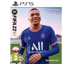 FIFA 22 na wybraną platformę 30 zł taniej! (PS5, PS4, XsX, Xbox One, PC, Nintendo Switch) @RTV Euro AGD