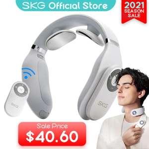 Inteligentny masażer szyi SKG, EMS Tech (elektroniczny symulator mięśni) za $42,14 - 164,82 zł z darmową dostawą @AliExpress