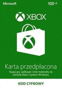 Doładowanie Xbox Live 100PLN (polskie konta Xbox One/Series X) za 79,91zł @ Eneba