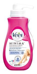 VEET MINIMA Krem do depilacji 5 min. dla skóry wrazliwej 400 ml