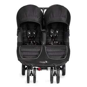 Wózek bliźniaczy spacerowy Baby Jogger City Mini Double Black/Grey