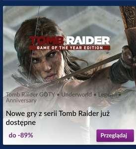 Tomb Raider Games Festival na Gog