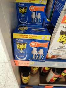 Wkłady przeciw komarom RAID dwupak. Kaufland
