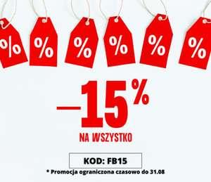 Zniżka -15% na WSZYSTKO do sklepu ze zdrową żywnością Kupujnaturalne.pl