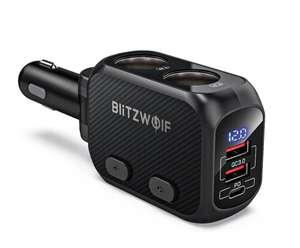 Ładowarka samochodowa Blitzwolf BW-CLA1 (11,99$)