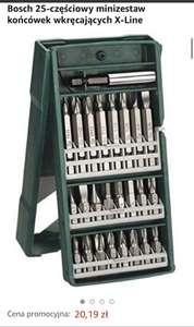 Bosch X-Line 25-częściowy zestaw końcówek do wkrętarki