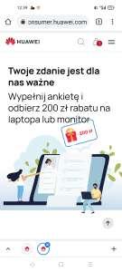 Rabat na zakup laptopa lub monitora. 200 zł