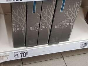 Wódka Belvedere 0.7L za 70 PLN