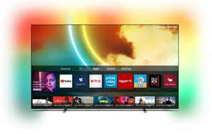 """Telewizor PHILIPS 55OLED705 55"""" OLED 4K 120Hz Android TV Ambilight x3 Dolby Atmos Nowość 2021"""