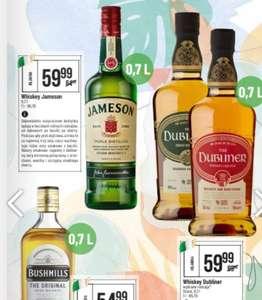 Whiskey irlandzkie Jameson i Dubliner 0,7l. Polo Market