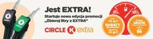 """Circle K - """"Zbieraj litry z Extra"""" - rabat na paliwo, darmowa myjnia"""
