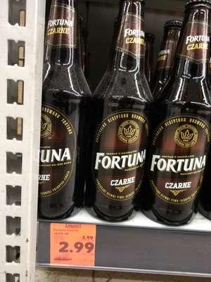 Piwo Fortuna czarne butelka zwr. (0,30-,) 0,5L /Kaufland/