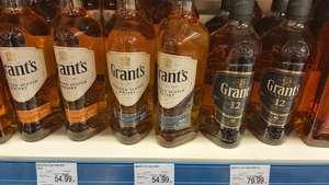 Grant's 12 Yo oraz Cask Edition 700 ml blended whisky - Leclerc