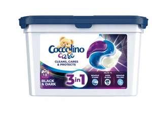 Kapsułki do prania COCCOLINO Care 3 in 1 Black 18 szt. za 11,49zł @ Media Expert