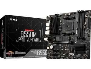 Płyta główna MSI B550M PRO-VDH WIFI mATX AM4 RGB ARGB WiFi+BT