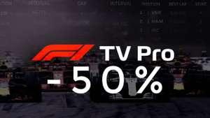 F1 TV Pro na 2 miesiące 50% taniej