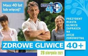 Zdrowe Gliwice 40+ | np. bezpłatne badania mammograficzne, porady, konsultacje, pierwsza pomoc | segregatory życia | znakowanie rowerów |